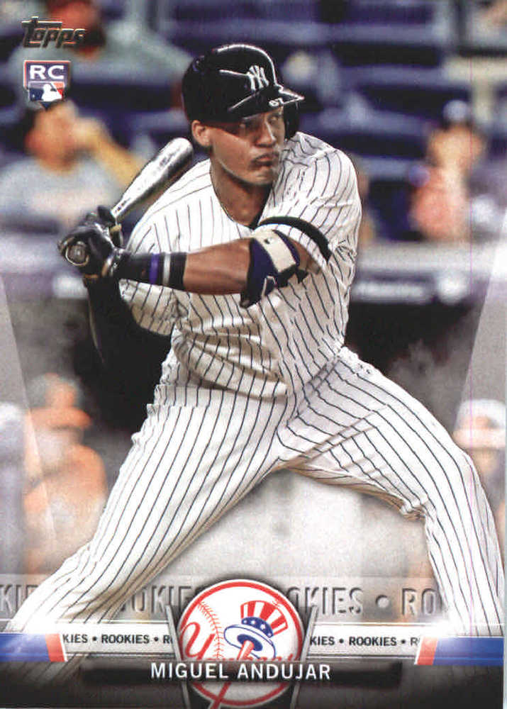 2018 Topps Salute #TS94 Miguel Andujar