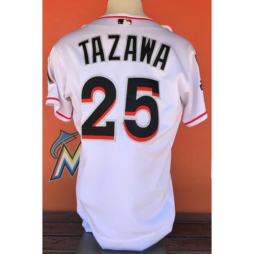Photo of Game-Used Jersey: Junichi Tazawa