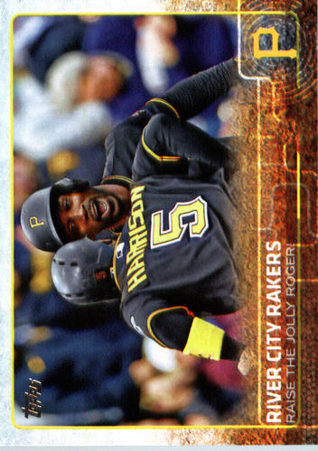 Photo of 2015 Topps Update #US15 River City Rakers/Andrew McCutchen/Josh Hairrson