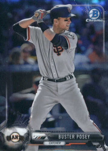 Photo of 2017 Bowman Chrome #91 Buster Posey