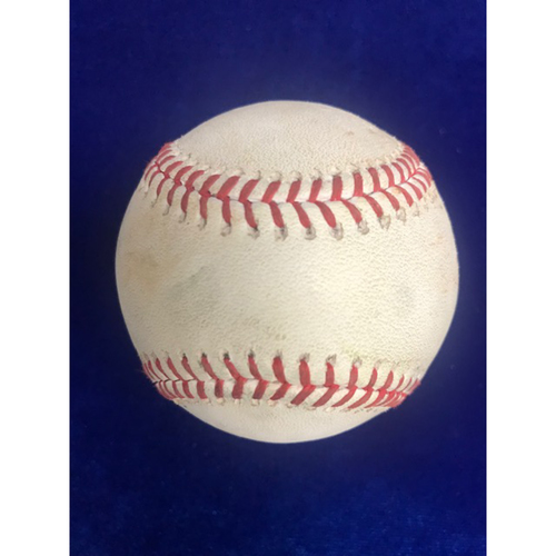 Photo of Game Used Baseball: Justin Upton RBI Triple September 12th 2018