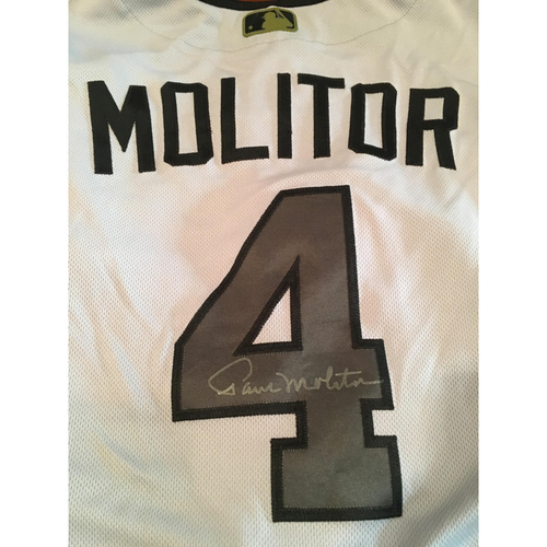 Photo of Paul Molitor Memorial Day Jersey