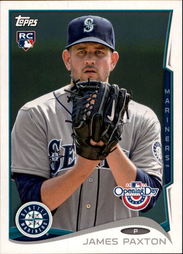 Photo of 2014 Topps Opening Day #3 James Paxton RC
