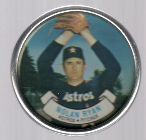 Photo of 1987 Topps Coins #40 Nolan Ryan