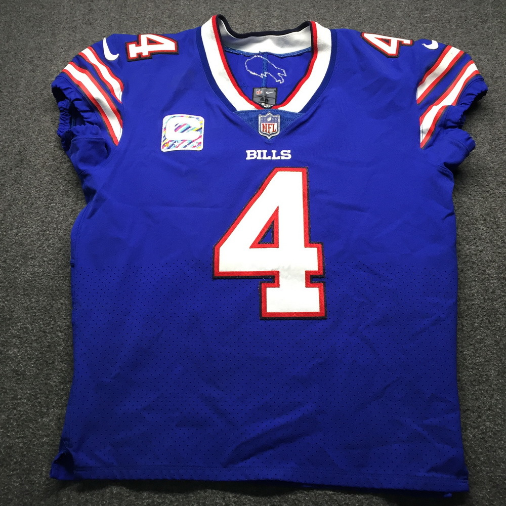 NFL Auction | Bills - Stephen Hauschka Game Used Jersey with ...