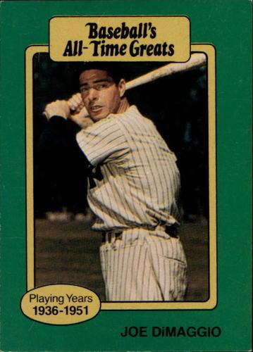Photo of 1987 Hygrade All-Time Greats #27 Joe DiMaggio