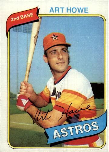Photo of 1980 Topps #554 Art Howe