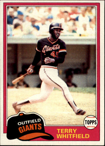 Photo of 1981 Topps #167 Terry Whitfield