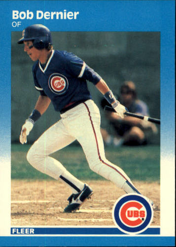 Photo of 1987 Fleer #559 Bob Dernier