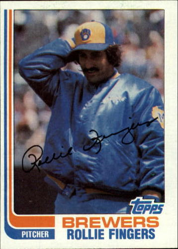 Photo of 1982 Topps #585 Rollie Fingers