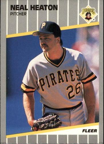 Photo of 1989 Fleer Update #113 Neal Heaton