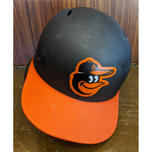 Photo of DJ Stewart - Road Batting Helmet: Team-Issued