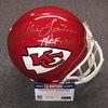 HOF - Chiefs Willie Lanier signed Chiefs proline helmet