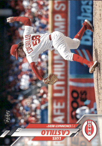 Photo of 2020 Topps #107 Luis Castillo