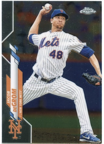 Photo of 2020 Topps Chrome #81 Jacob deGrom