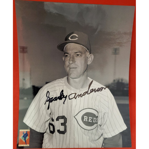 Photo of Sparky Anderson Autographed Photo