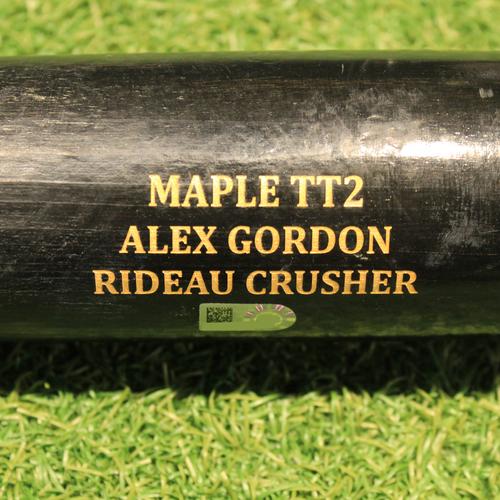 Photo of Team-Issued Bat: Alex Gordon #4