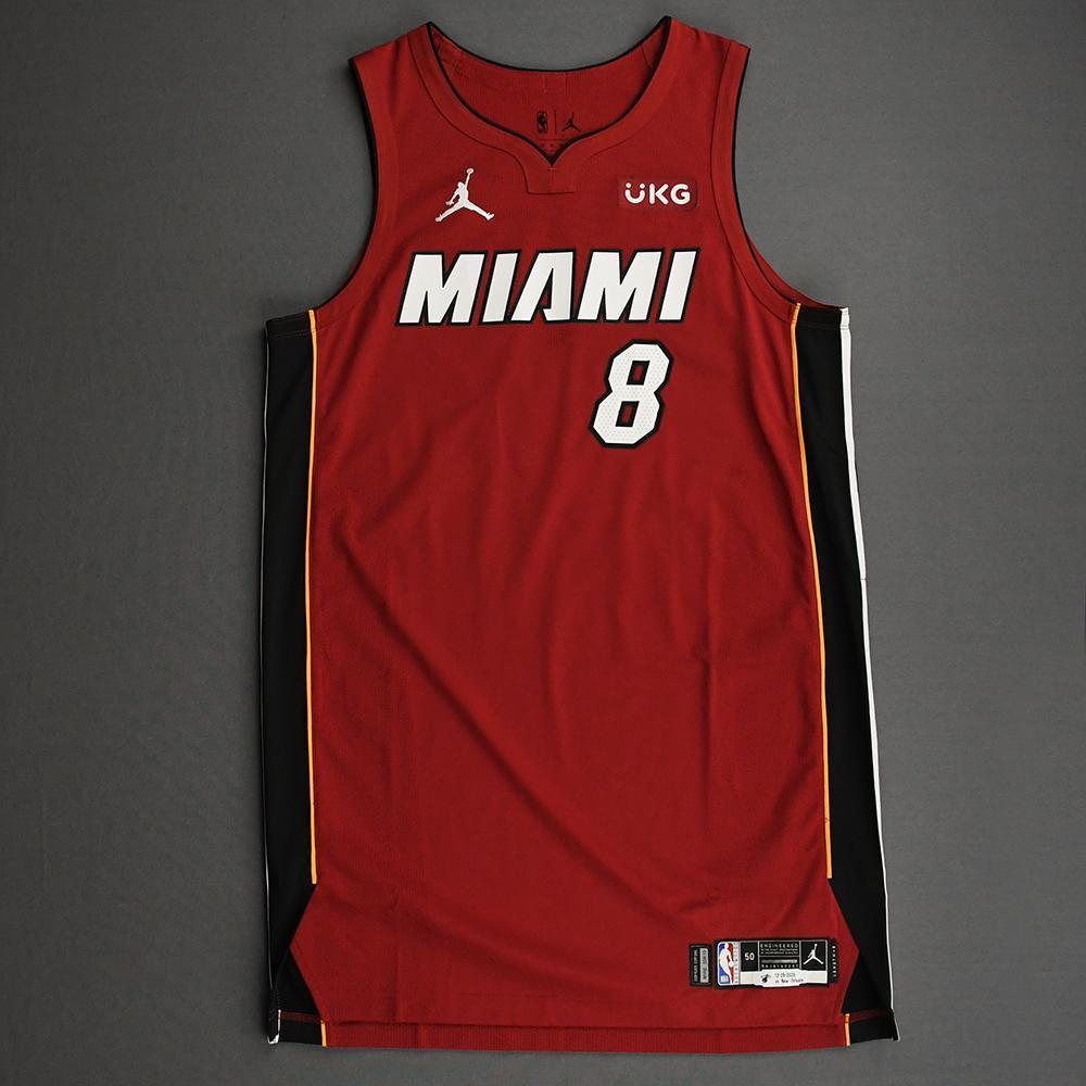 Maurice Harkless - Miami Heat - Game-Worn - Statement Edition Jersey - Christmas Day 2020