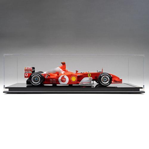 Photo of Michael Schumacher Ferrari 2002 F2002 1:8 Scale Model F1 Car