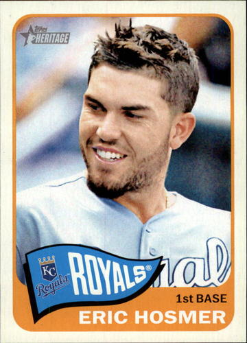 Photo of 2014 Topps Heritage #198A Eric Hosmer