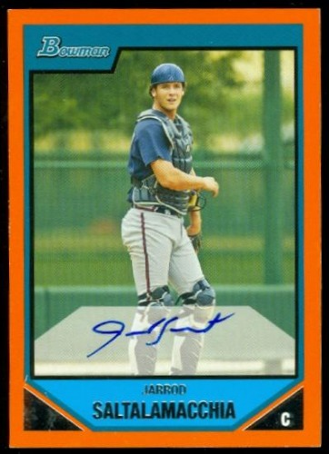 Photo of 2007 Bowman Prospects Orange #BP133 Jarrod Saltalamacchia AU