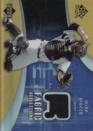 Photo of 2005 Reflections Fabric Jersey #PI Mike Piazza