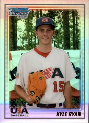 Photo of 2010 Bowman Chrome 18U USA Baseball Refractors #18BC16 Kyle Ryan