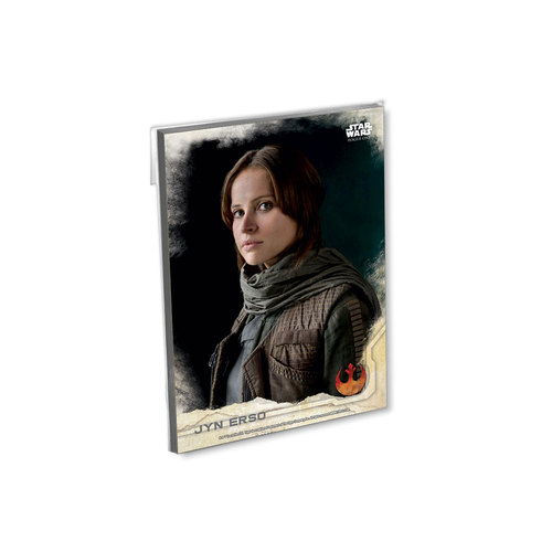2016 Topps Star Wars Rogue One Series One 5x7 Base Set (90 Cards) - # to 49
