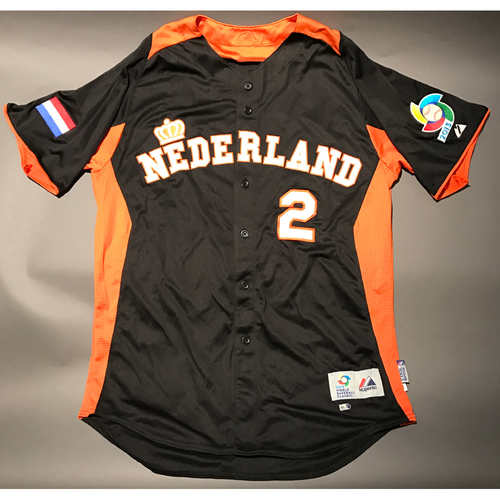 Photo of 2013 World Baseball Classic Jersey - Netherlands Jersey, Roger Bernadina #2