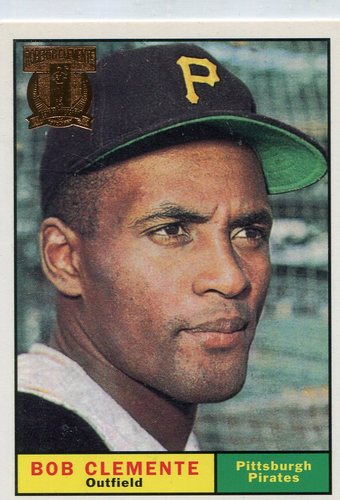 Photo of 1998 Topps Clemente #7 Roberto Clemente 1961