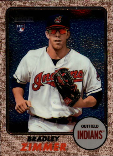 Photo of 2017 Topps Heritage Chrome #THC576 Bradley Zimmer