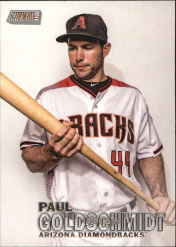 Photo of 2016 Stadium Club #115 Paul Goldschmidt -- D'backs post-season
