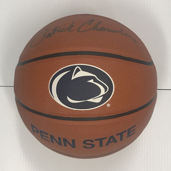 Photo of Penn State Basketball Signed by Men's Head Coach Patrick Chambers