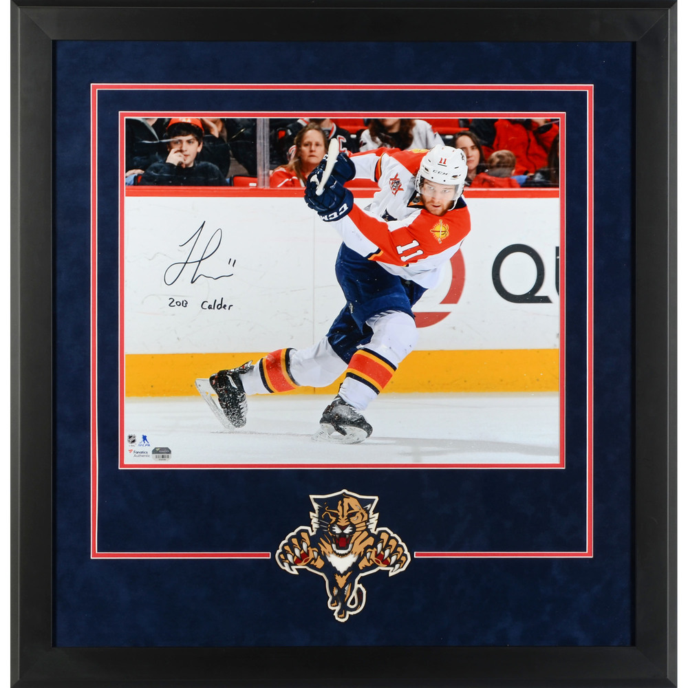 Jonathan Huberdeau Florida Panthers Deluxe Framed Autographed 16