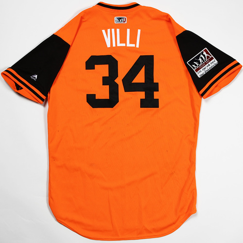 "Photo of Jonathan ""Villi"" Villar Baltimore Orioles Game-Used 2018 Players' Weekend Jersey"
