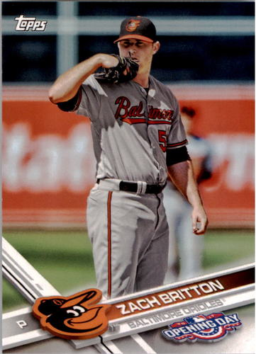 Photo of 2017 Topps Opening Day #64 Zach Britton