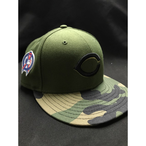 Photo of Jackson Stephens - Game-Used - Military Appreciation Hat (Worn: 2018)
