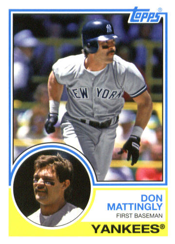 Photo of 2015 Topps Archives #276 Don Mattingly