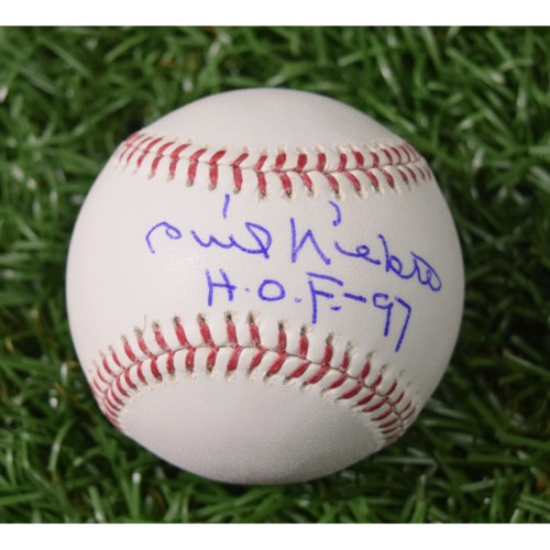 Photo of Rays Baseball Foundation Auction: Phil Niekro Autographed Baseball
