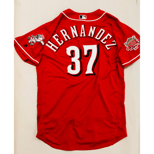 Photo of 2019 Mexico Series Game Used Jersey - David Hernandez Size 50 (Cincinnati Reds)