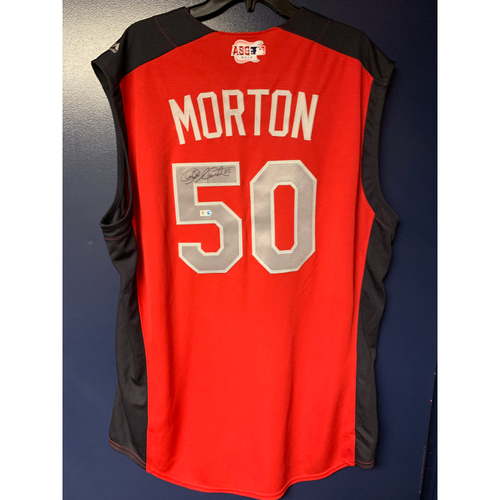 Charlie Morton 2019 Major League Baseball Workout Day Autographed Jersey