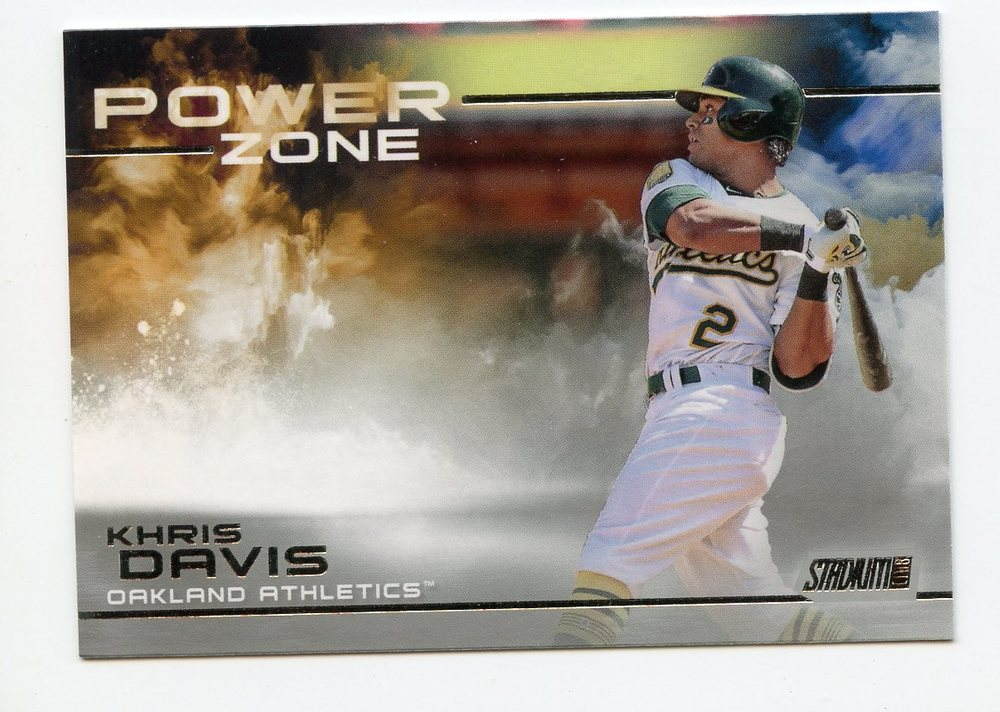 2019 Stadium Club Power Zone #PZ19 Khris Davis