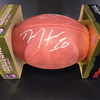 Texans - Deandre Hopkins and Brock Osweiler Signed Authentic Football