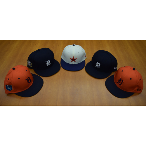 Detroit Tigers Foundation - Clubhouse Issued Cap Collection #5 (NOT MLB AUTHENTICATED)