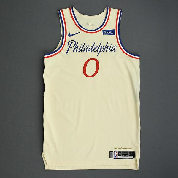 Image of Josh Richardson - Philadelphia 76ers - Christmas Day' 19 - Game-Worn City Edition Jersey