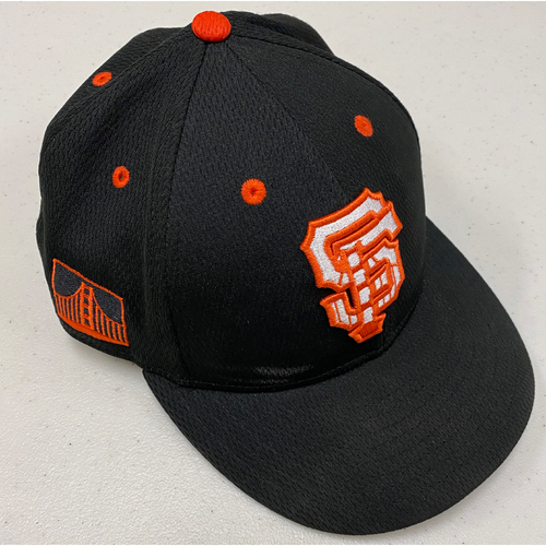 Photo of 2020 Team Issued Spring Training Cap - #28 Buster Posey - Size 7 1/4