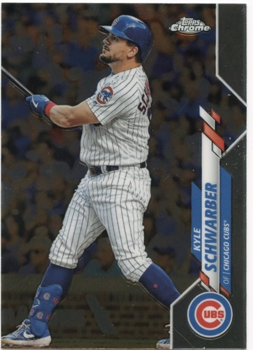 Photo of 2020 Topps Chrome #85 Kyle Schwarber