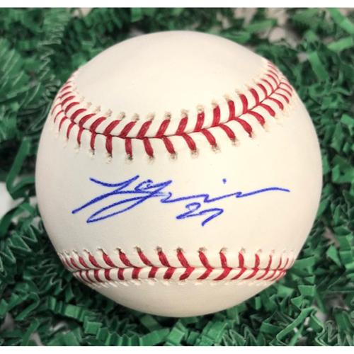 Photo of Lucas Giolito Autographed Baseball