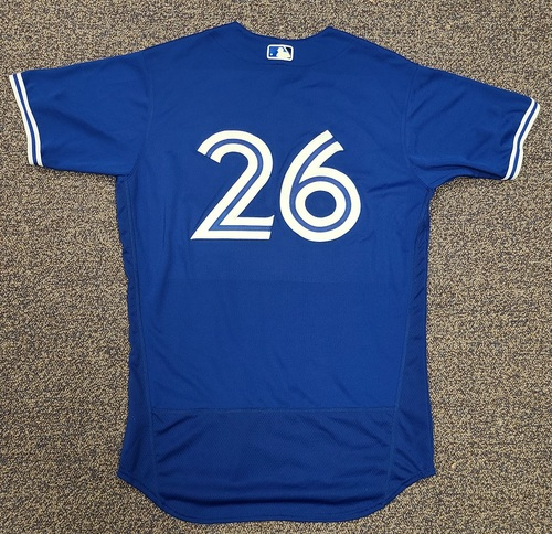 Photo of Authenticated Team Issued 2020 Spring Training Jersey: #26 Matt Buschmann. Size 44