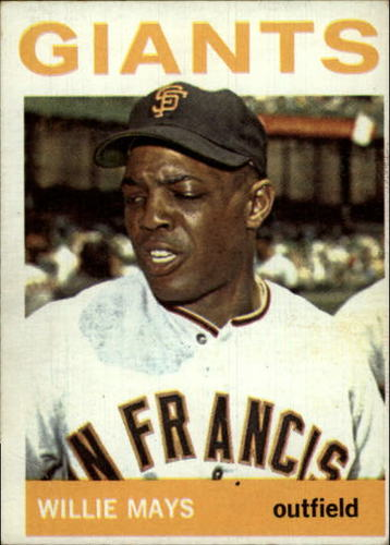 Photo of 1964 Topps #150 Willie Mays